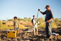 Kayne and Kamil help the King Brown Snake survive the onslaught of Cane Toads!
