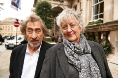 Howard Jacobson and Germaine Greer on location